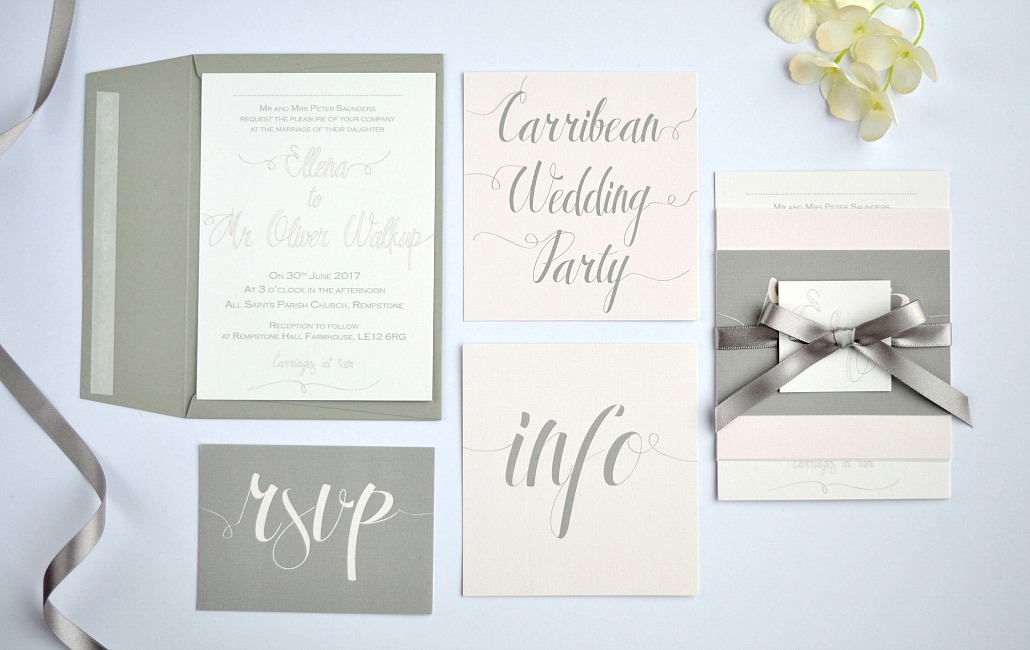 Creating Wedding Stationery As Unique You