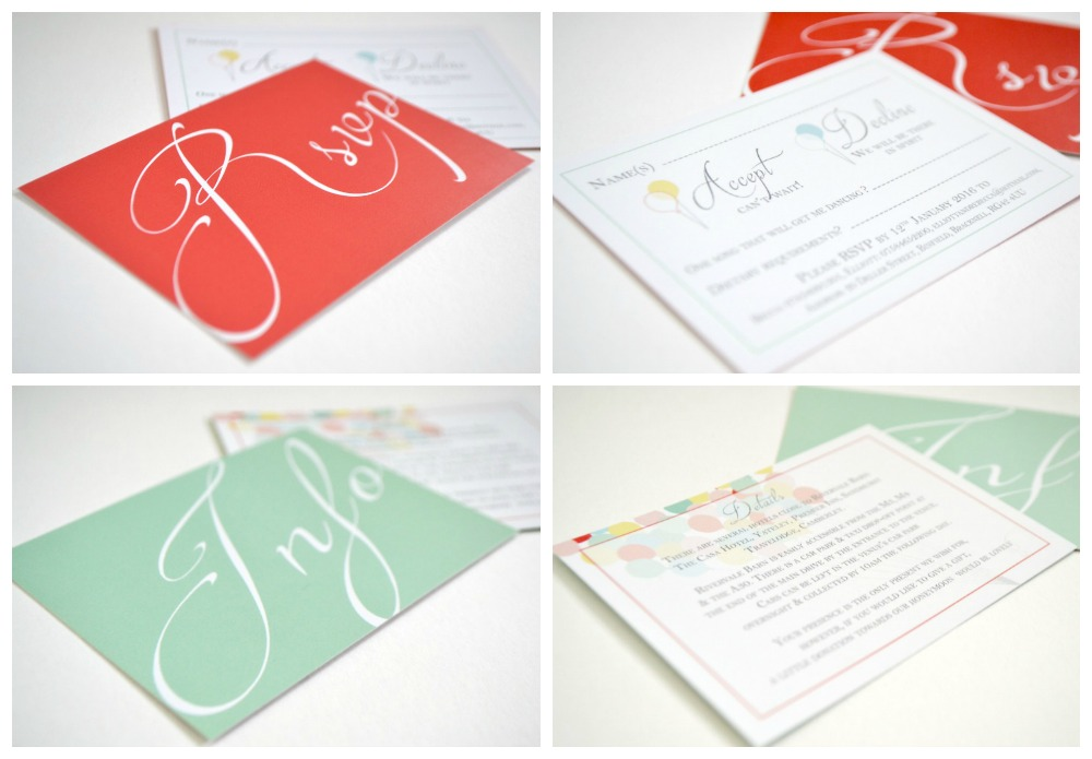 Disney Up film wedding invitations at Rivervale Barn