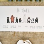Bear wedding stationery at Oakley Hall