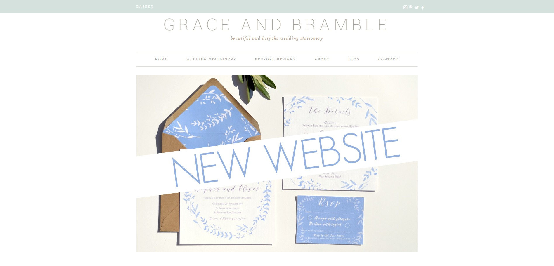 New Grace and Bramble website